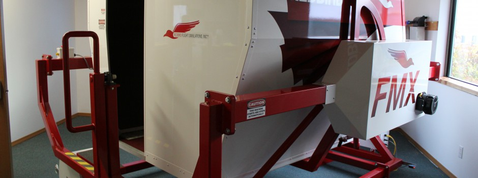 Redbird Full Motion Simulator